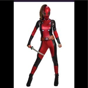 Women's Marvel Deadpool Costume Size Small